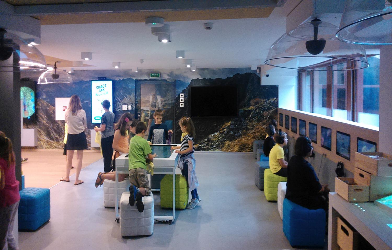 Interaktywne Centrum Edukacji Tatrzańskiego Parku Narodowego