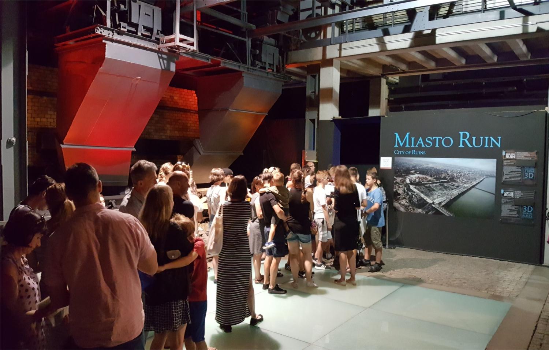MIASTO RUIN- EKSKLUZYWNE KINO 3D 2,5K W MUZEUM POWSTANIA WARSZAWSKIGO